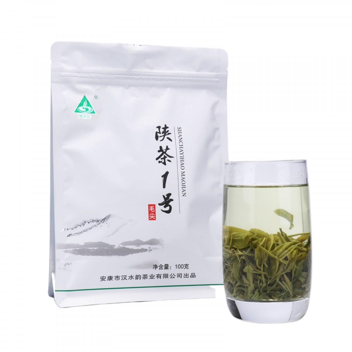 陕茶一号毛尖 安康富硒茶汉水韵绿茶100g