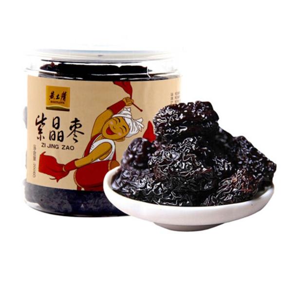 黄土情紫晶枣200*2罐装