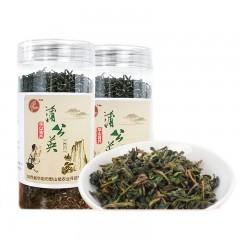 [渭南扶贫馆】华阴市白犀牛华阴特产蒲公英绿茶70g/罐*2罐