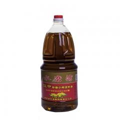 【汉中扶贫馆】勉县 金花油脂 水磨湾炒香小榨菜籽油桶装2.5L