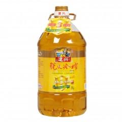 【汉中扶贫馆】勉县 建兴 脱皮冷榨菜籽油5L瓶
