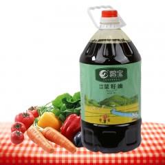 【汉中扶贫馆】  洋县 鹮宝小机压榨菜籽油5L/桶