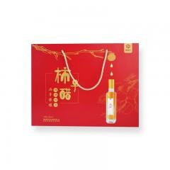 【渭南扶贫馆】蒲城县 富农汇 精品两年陈酿柿子醋礼盒装250ml*4瓶