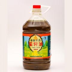 【榆林扶贫馆】定边县田坤道粮油农家生态菜籽油5L/桶