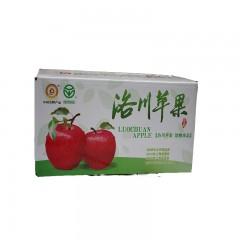 【延安扶贫馆】顶端 洛川苹果85#24枚 分销包装.顺丰免邮