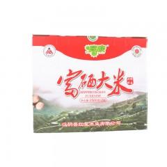 安康硒品1号店  汉阴  红星米业富硒大米5kg/盒