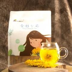 安康硒品1号店 舍顿金丝黄菊30朵/袋(简易装)