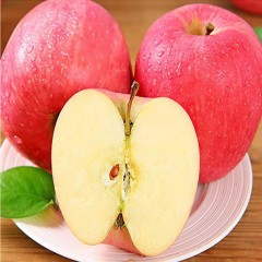 【榆林扶贫馆】米脂县海霞榆果米脂山地红富士苹果