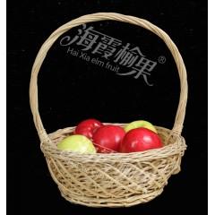 【榆林扶贫馆】米脂县海霞榆果米脂山地瑞雪苹果70-75mm16枚/箱